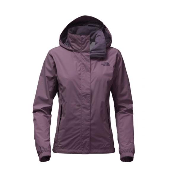 065cae262 Women's North Face Resolve 2 Jacket - Black Plum NWT